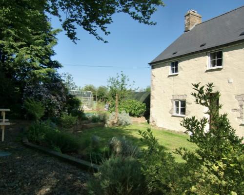 The Old Farmhouse South-facing garden