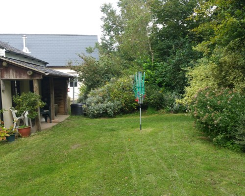 The Old Farmhouse Private garden
