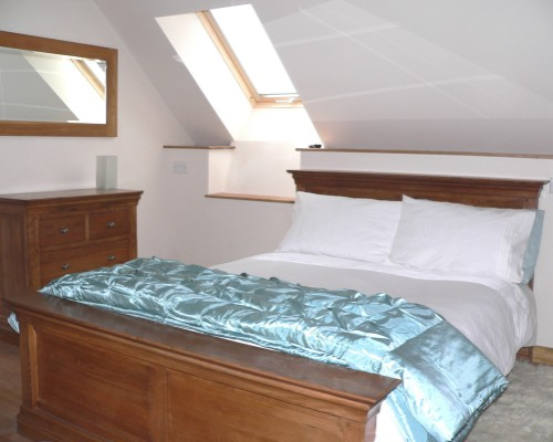 Ysgubor Mawr Double bedroom
