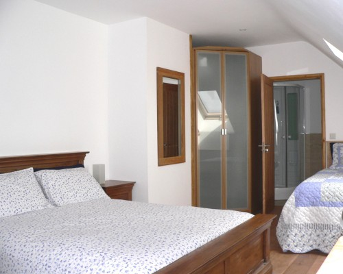 Ysgubor Mawr 2nd family bedroom