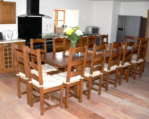 Ysgubor Mawr Kitchen/dining area
