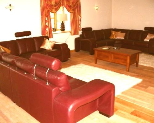 Ysgubor Mawr Comfortable lounge